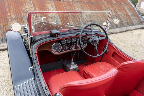 1933 Alvis Speed 20 SA by Vanden Plas For Sale (picture 4 of 6)