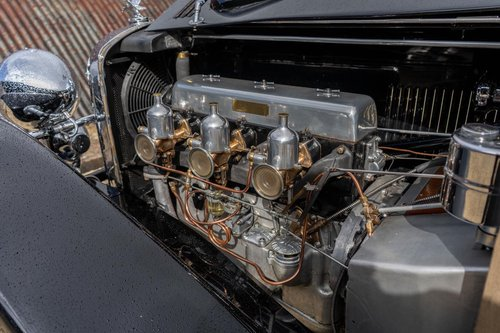 1933 Alvis Speed 20 SA by Vanden Plas For Sale (picture 6 of 6)