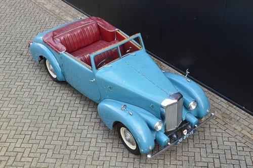1946 Alvis TA14 Pennock Cabrio  For Sale (picture 2 of 6)