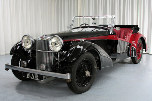 1939 Speed 25 Vanden Plas Tourer by Compton For Sale (picture 1 of 6)