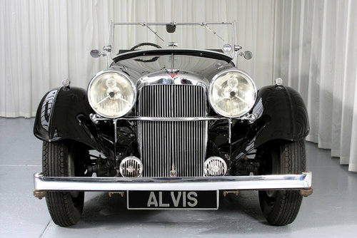 1939 Speed 25 Vanden Plas Tourer by Compton For Sale (picture 2 of 6)