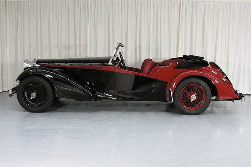 1939 Speed 25 Vanden Plas Tourer by Compton For Sale (picture 3 of 6)