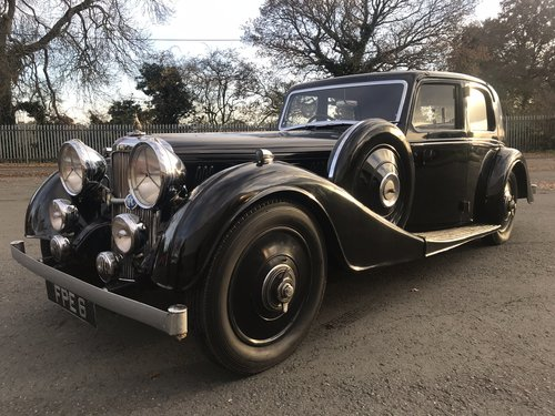 1937 ALVIS SPEED 25 SB - SPORTS SALOON CHARLESWORTH TWO OWNERS SOLD (picture 1 of 6)