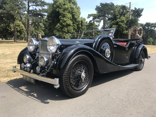 1936 ALVIS Speed 25 Cross and Ellis Tourer  For Sale (picture 1 of 6)