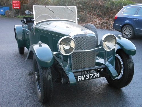 1933 Alvis Speed 20 SA Cross and Ellis Tourer For Sale (picture 3 of 6)