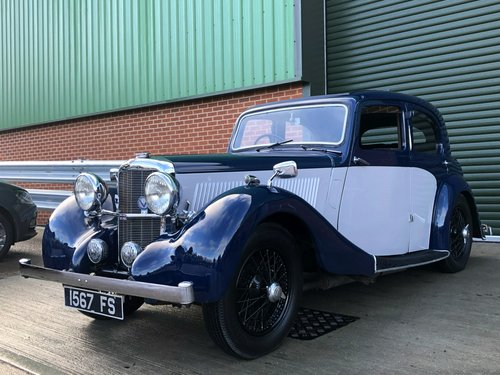 1937 Alvis 12/70 Mulliners Sport Saloon SOLD (picture 1 of 6)