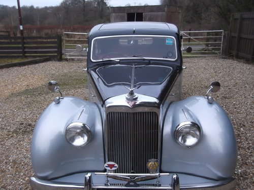 LOVELY 1951 ALVIS TA21 For Sale (picture 2 of 6)