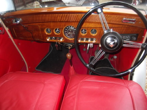 LOVELY 1951 ALVIS TA21 For Sale (picture 4 of 6)