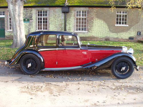 1936 Alvis Speed 20 SD Charlesworth saloon For Sale (picture 1 of 6)
