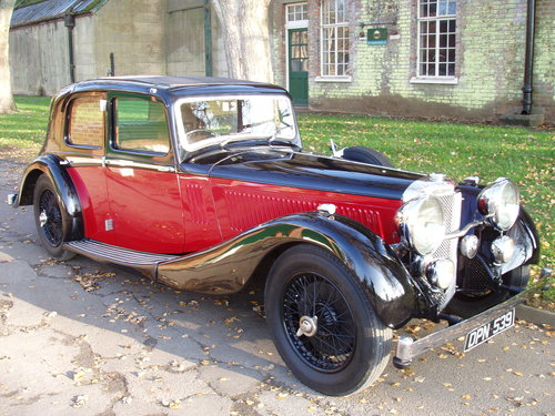 1936 Alvis Speed 20 SD Charlesworth saloon For Sale (picture 4 of 6)