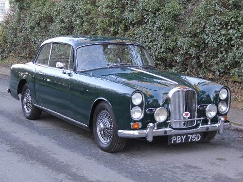 1966 Alvis TF21 'The Fisherman's Coupe' - Totally unique. SOLD (picture 1 of 6)