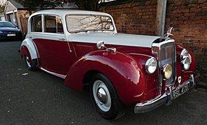 "1954 Alvis TC21/100 ""Grey Lady"" For Sale"