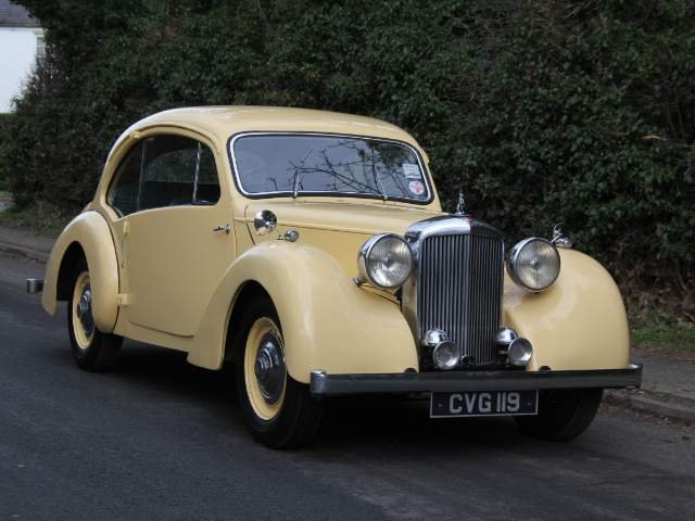1947 Alvis Duncan Coupe - Demonstrator Launch car, 1 of 36 built SOLD (picture 1 of 6)