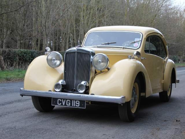 1947 Alvis Duncan Coupe - Demonstrator Launch car, 1 of 36 built SOLD (picture 2 of 6)
