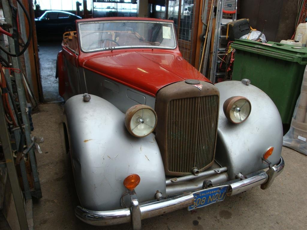 1948 Alvis TA14 DHC RHD for sale For Sale (picture 1 of 6)