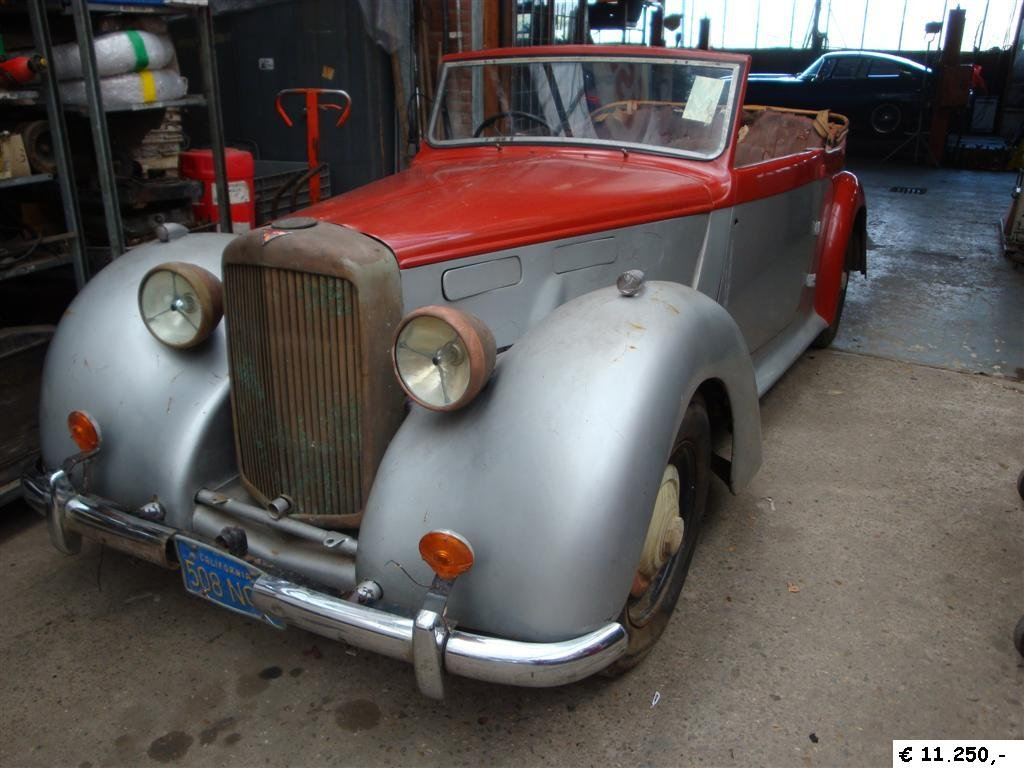 1948 Alvis TA14 DHC RHD for sale For Sale (picture 2 of 6)