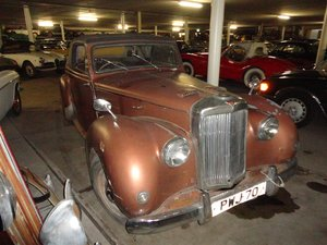 1952 Alvis TC convertible RHD for sale For Sale