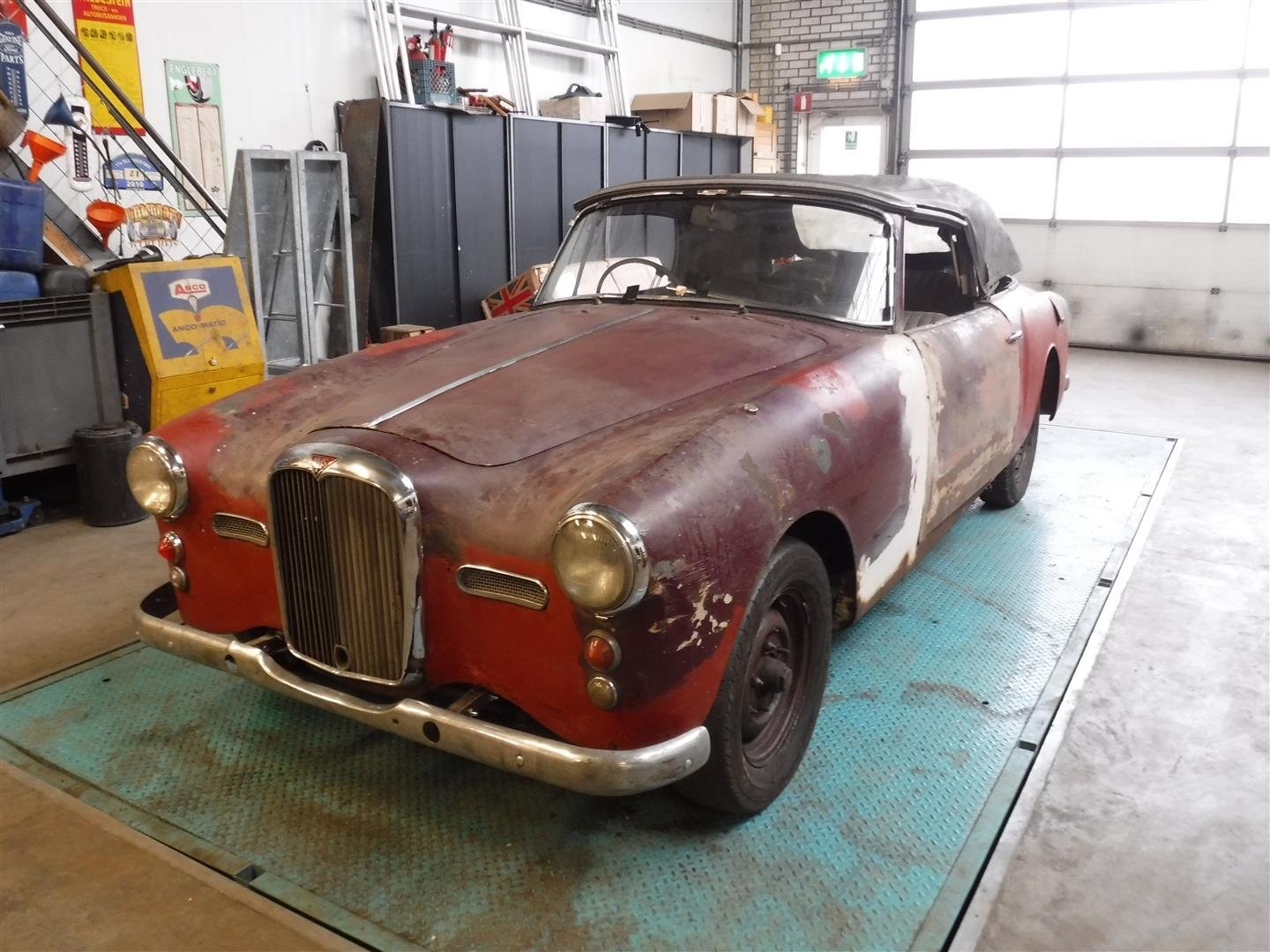 1960 Alvis TD21 convertible for sale For Sale (picture 1 of 6)