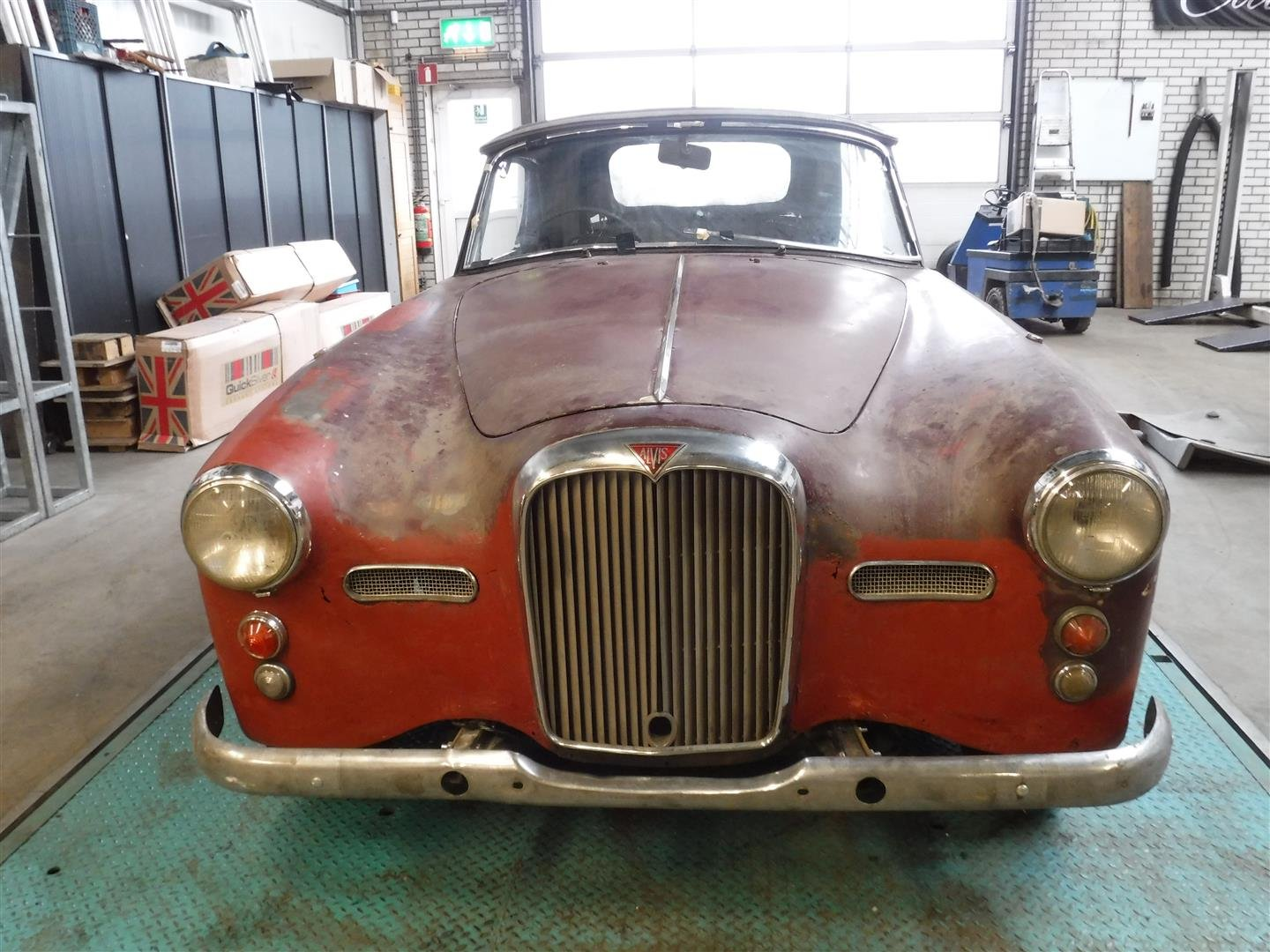 1960 Alvis TD21 convertible for sale For Sale (picture 2 of 6)