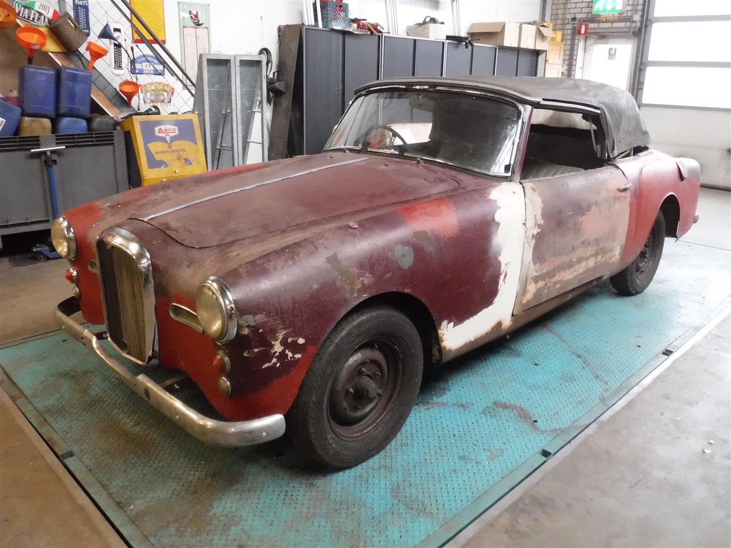 1960 Alvis TD21 convertible for sale For Sale (picture 6 of 6)