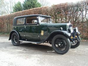 1932 Alvis 12/50 TJ Atlantic Saloon