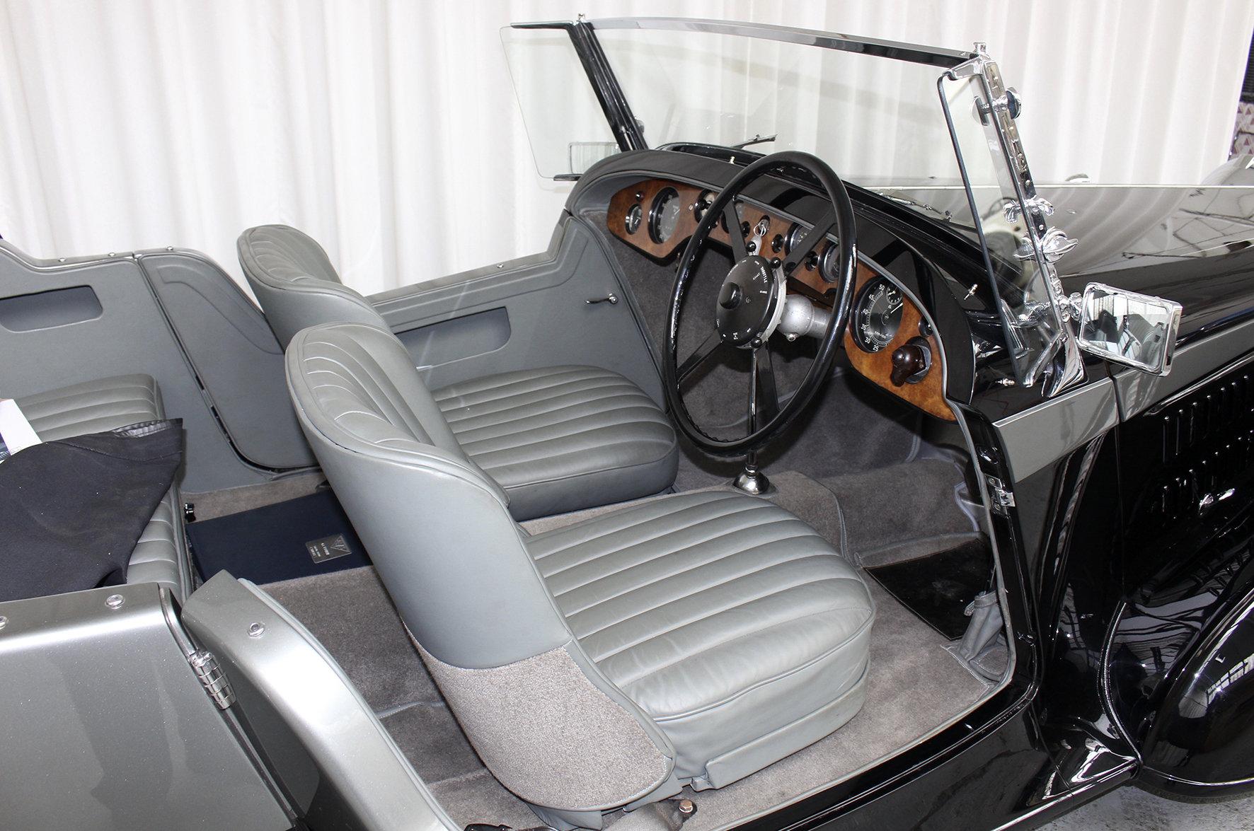 1937 4.3 Vanden Plas Style Tourer For Sale (picture 5 of 6)