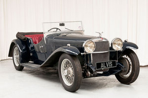 1933 Speed20 Tourer by Vanden Plas For Sale