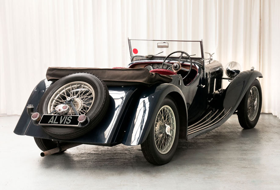 1933 Speed20 Tourer by Vanden Plas For Sale (picture 5 of 6)