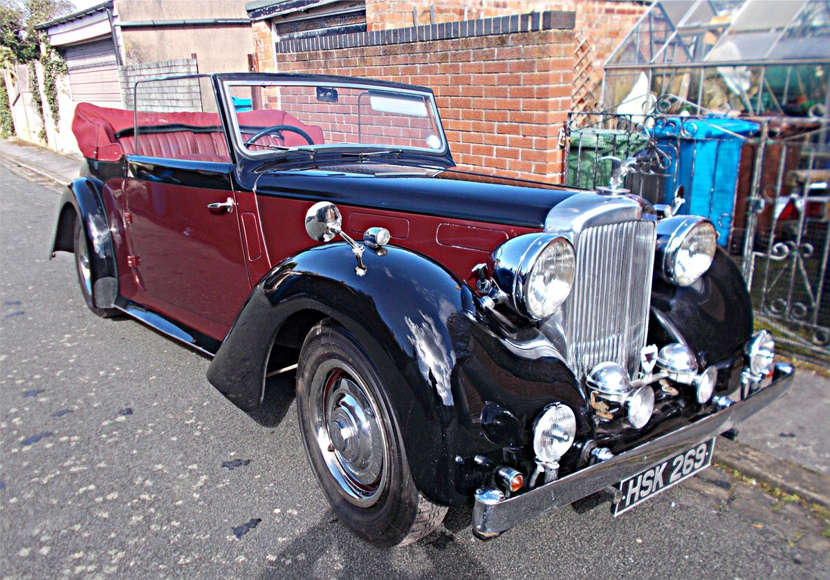 1948 Alvis TA14 DHC (3-position) by Carbodies For Sale (picture 1 of 6)
