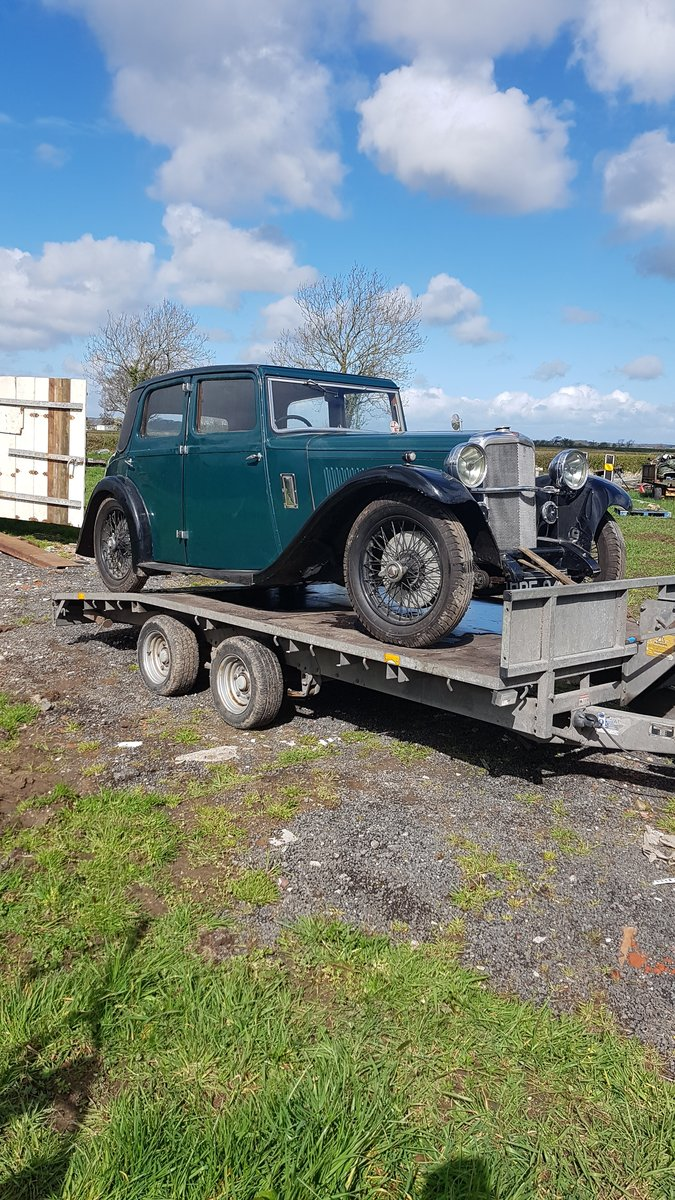 1934 Alvis Firebird Holbrook saloon For Sale (picture 1 of 6)