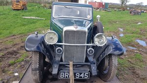 1934 Alvis Firebird Holbrook saloon For Sale