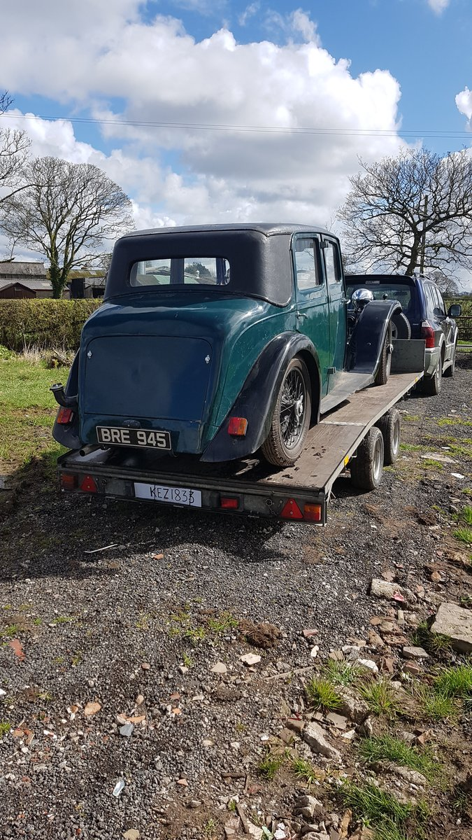 1934 Alvis Firebird Holbrook saloon For Sale (picture 6 of 6)