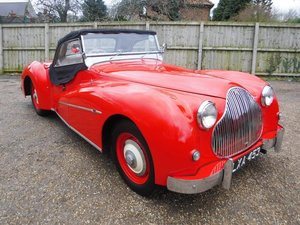 **REMAINS AVAILABLE**1950 Alvis TB14 Sports Special SOLD by Auction