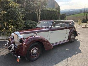 1949 Alvis TA14 3 Position Drop Head Tourer For Sale