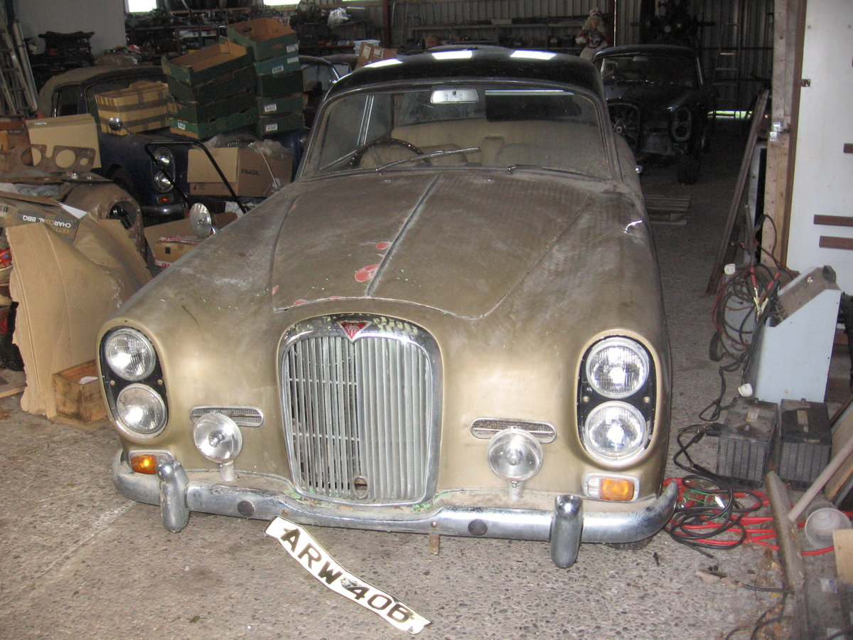 1965 TE21 automatic, P/steering for restoration For Sale (picture 1 of 6)