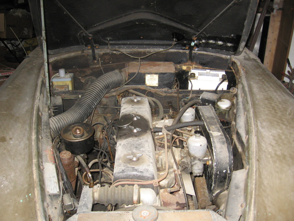 1965 TE21 automatic, P/steering for restoration For Sale (picture 3 of 6)