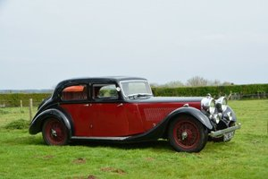 1936 Alvis Speed 20 SD Saloon For Sale by Auction