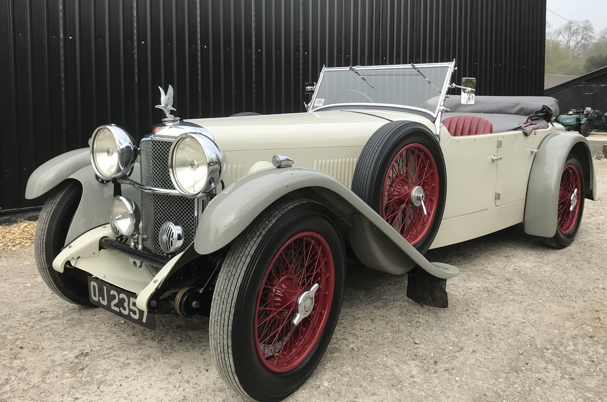 1932 Alvis Speed 20 SA Tourer  For Sale (picture 1 of 12)