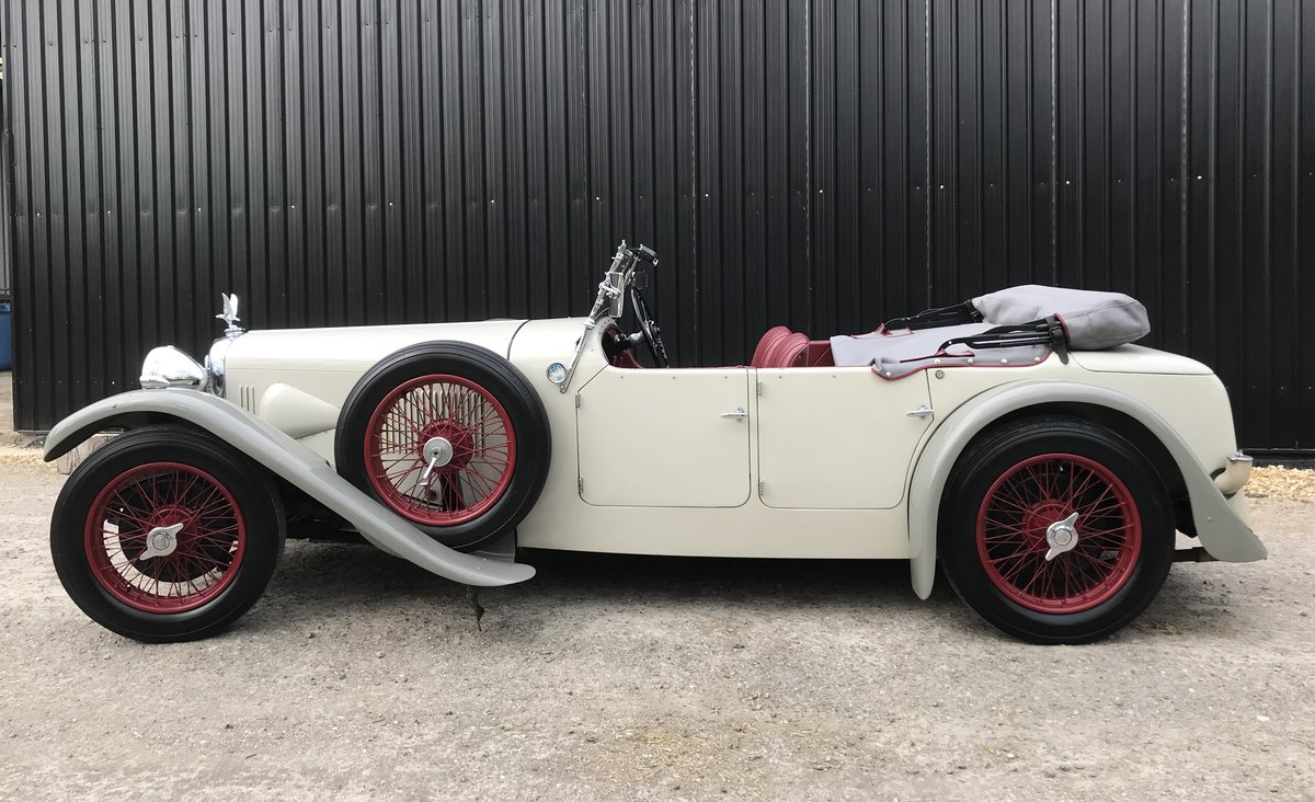 1932 Alvis Speed 20 SA Tourer - Reserved SOLD (picture 5 of 12)