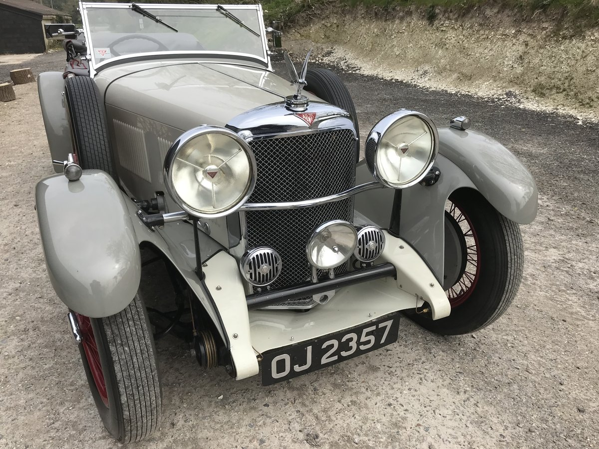 1932 Alvis Speed 20 SA Tourer - Reserved SOLD (picture 6 of 12)