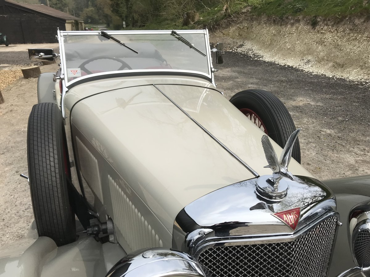 1932 Alvis Speed 20 SA Tourer  For Sale (picture 9 of 12)
