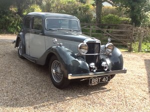 1938 12/70 SC Mulliner Saloon For Sale