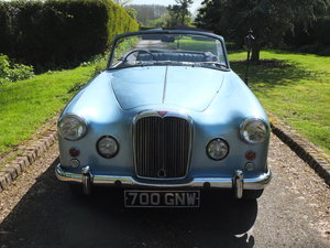 1963 ALVIS TD21 SERIES 11 DROPHEAD. For Sale