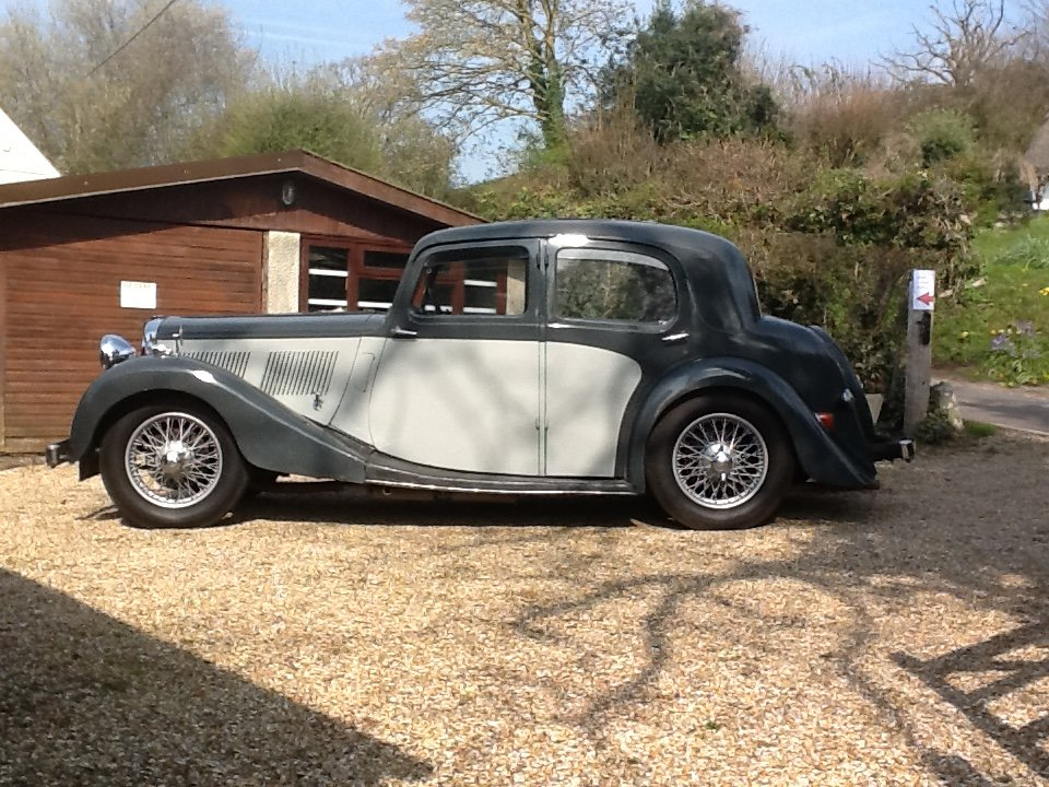 1938 12/70 SC Mulliner Saloon SOLD (picture 6 of 6)