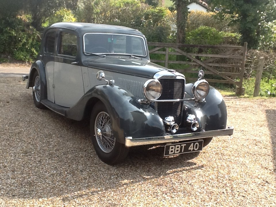 1938 12/70 SC Mulliner Saloon SOLD (picture 1 of 6)