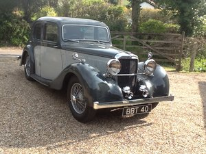 1938 12/70 SC Mulliner Saloon SOLD