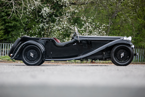 1934 Alvis Speed 20 SB Vanden Plas Tourer For Sale by Auction