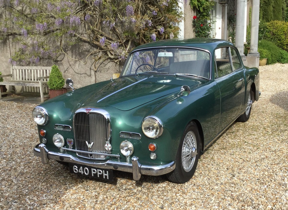 1960 ALVIS S1 TD21 Saloon in Almond Green metallic For Sale (picture 1 of 6)