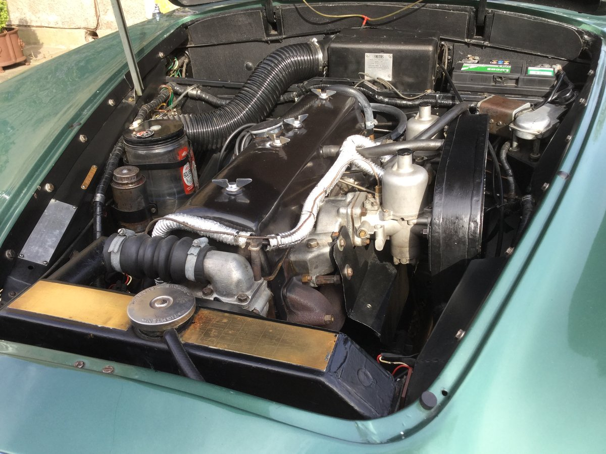 1960 ALVIS S1 TD21 Saloon in Almond Green metallic For Sale (picture 5 of 6)