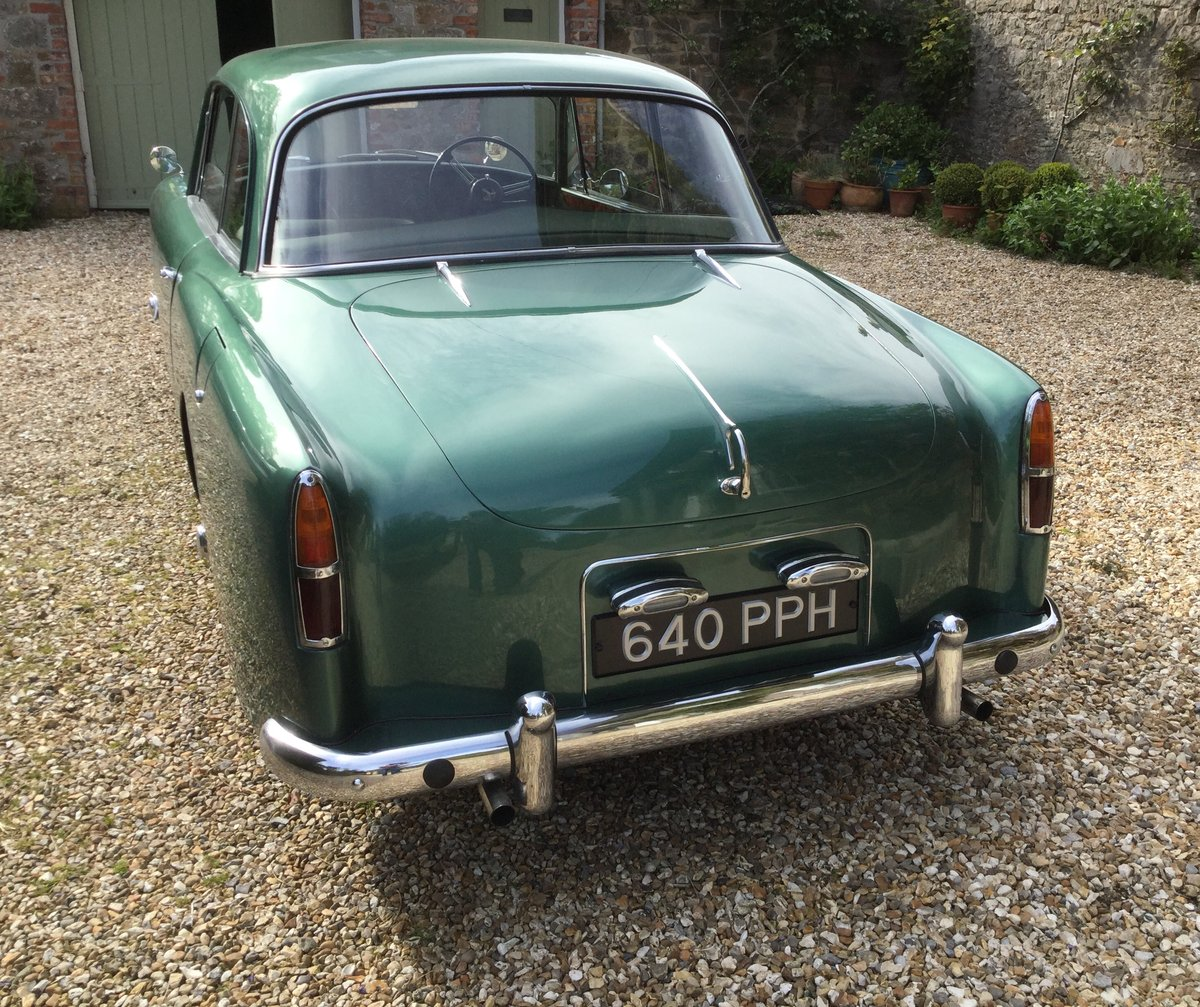 1960 ALVIS S1 TD21 Saloon in Almond Green metallic For Sale (picture 6 of 6)